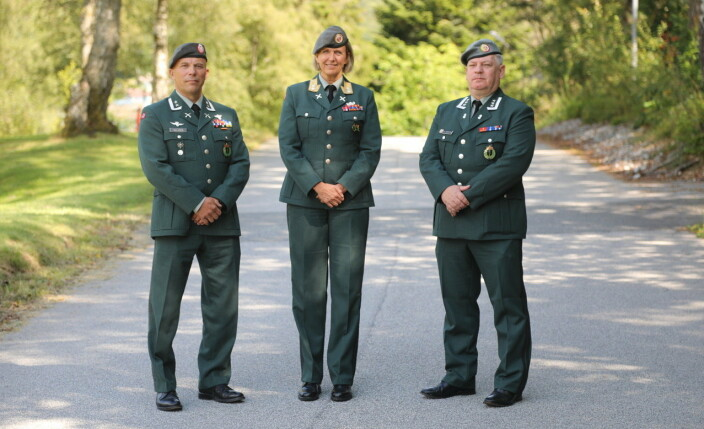 SJEF HEIMEVERNET: Generalmajor Elisabeth Michaelsen gjennomførte sjefsbytte tirsdag.