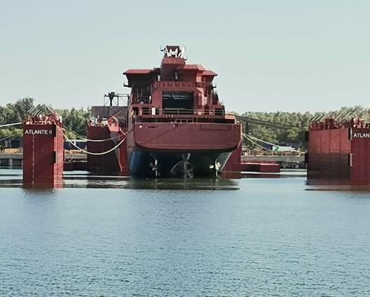 Kystvaktens nye fartøy snart på vei til Norge