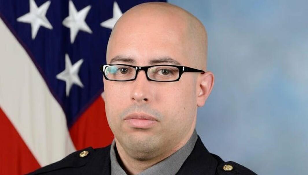 DREPT: George Gonzalez (37) ble drept under angrepet utenfor Pentagon tirsdag 3. august.