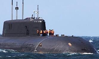 Russisk atomubåt fikk motorproblemer i dansk farvann