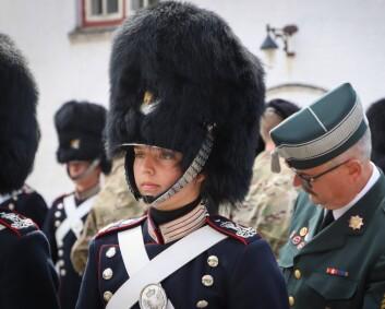 Rekordmange kvinner søker seg til Den kongelige livgarde