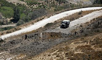 Hizbollah skjøt raketter mot Israel