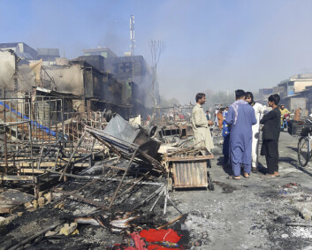 Mazar-e Sharif er under kraftig angrep
