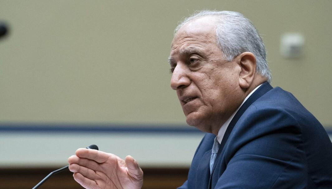 AFGHANISTAN: Zalmay Khalilzad er USAs Afghanistan-utsending som skal forhandle med Taliban.