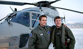 Helikopterpilot tiltrer som ny toppsjef i Luftforsvaret