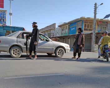 Ni provinshovedsteder kontrolleres av Taliban