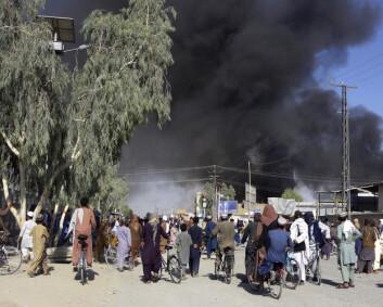 Storbritannias forsvarsminister frykter full borgerkrig i Afghanistan