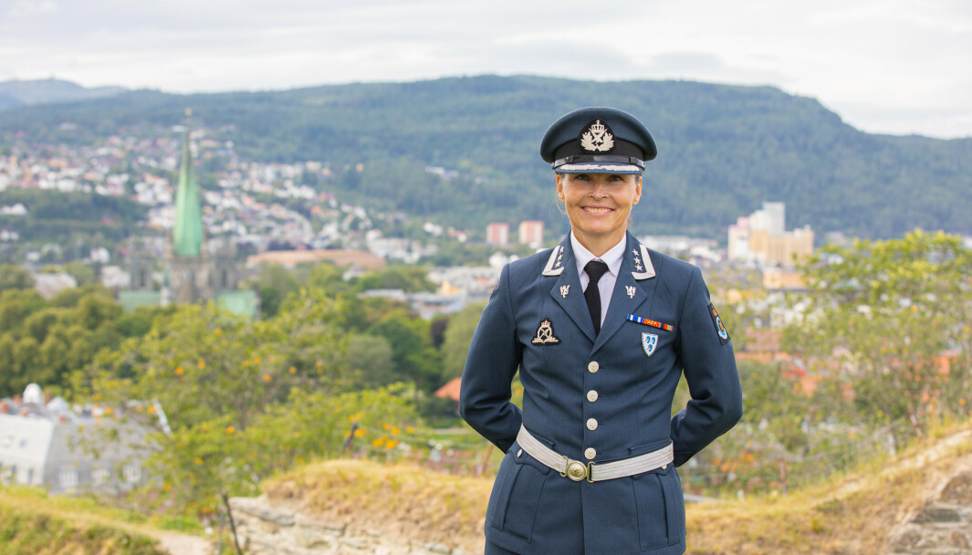 SJEF: Marianne Døhl er ny sjef for Luftkrigsskolen i Trondheim.