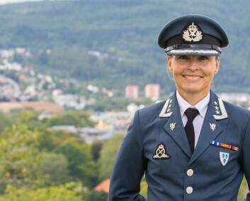 Marianne Døhl har overtatt som sjef for Luftkrigsskolen