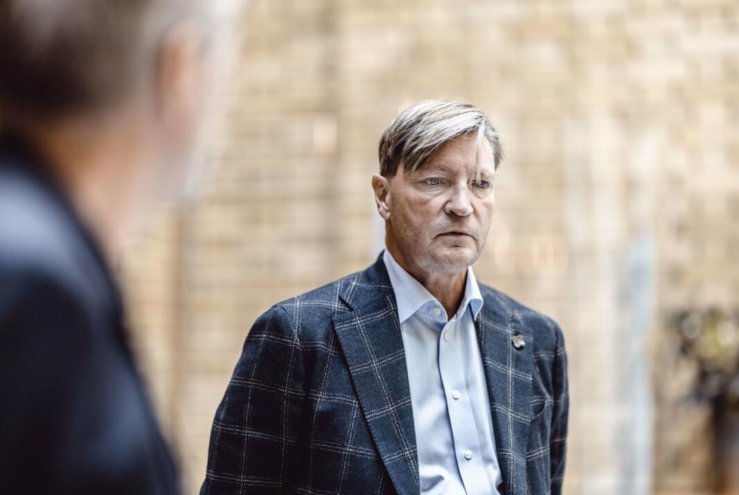 MER PENGER: Christian Tybring-Gjedde (Frp) vil bruke mer penger på Forsvaret.