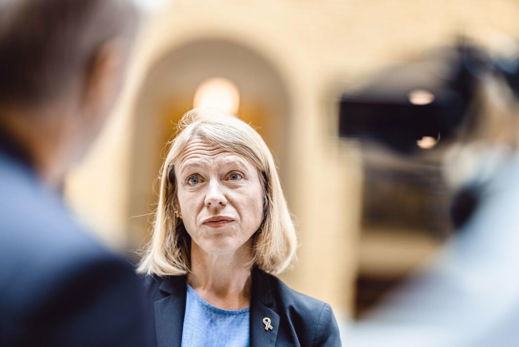 HÆREN: Arbeiderpartiet går til valg på å satse spesielt på å utvikle Hæren til en moderne, mobil og slagkraftig landmilitær styrke, sier Anniken Huitfeldt (AP).