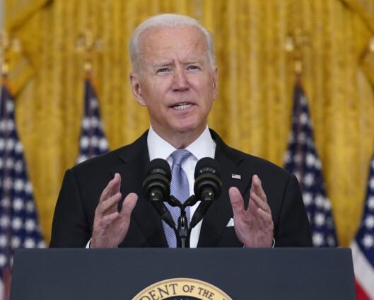 Biden: Nasjonsbygging var aldri USAs mål i Afghanistan