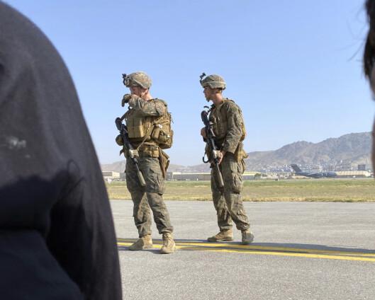 USA har evakuert 3.200 fra Afghanistan