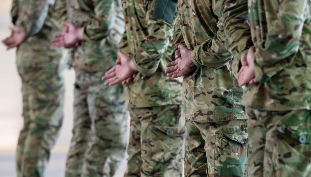 VETERANER: De som har tjenestegjort i Afghanistan bør være stolte av det, skriver Frank Bakke-Jensen. Her ser vi mottagelse for de siste norske kampstyrkene som kom fra Afghanistan.