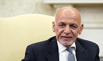 Ghani sier han forlot Afghanistan for å unngå en katastrofe