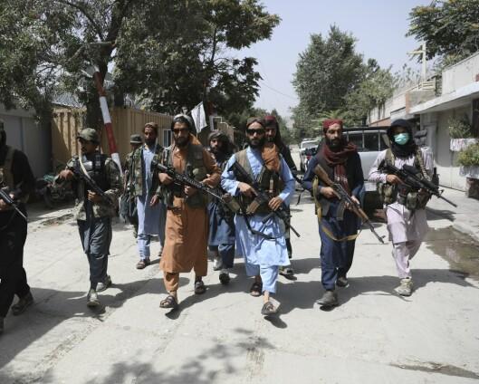 Store mengder amerikanske våpen i Talibans hender