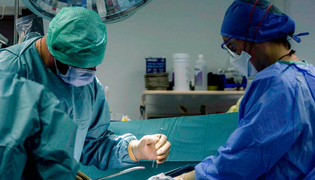 Arkivfoto fra feltsykehuset i Kabul.