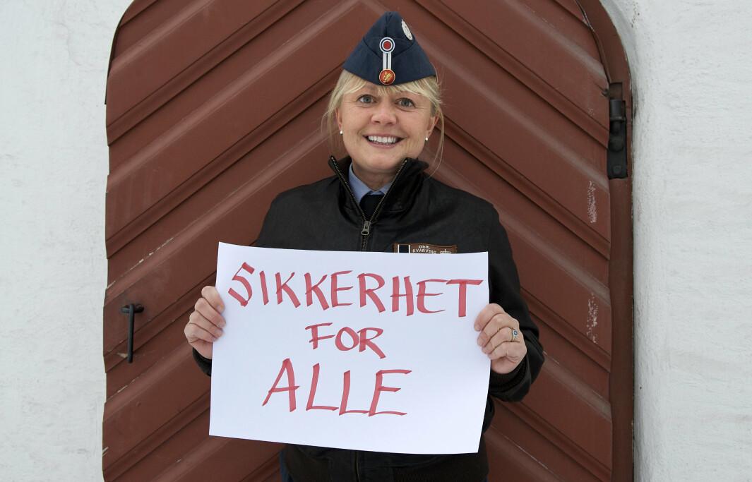Lena P. Kvarving har jobbet med gender og likestilling i Forsvaret i en årrekke.