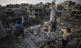 Flyangrep mot Gaza etter angrep med brannballonger