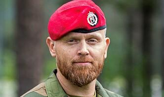 Oberstløytnant Stian Dale skulle gjerne delt en feltrasjon med en yngre utgave av seg selv