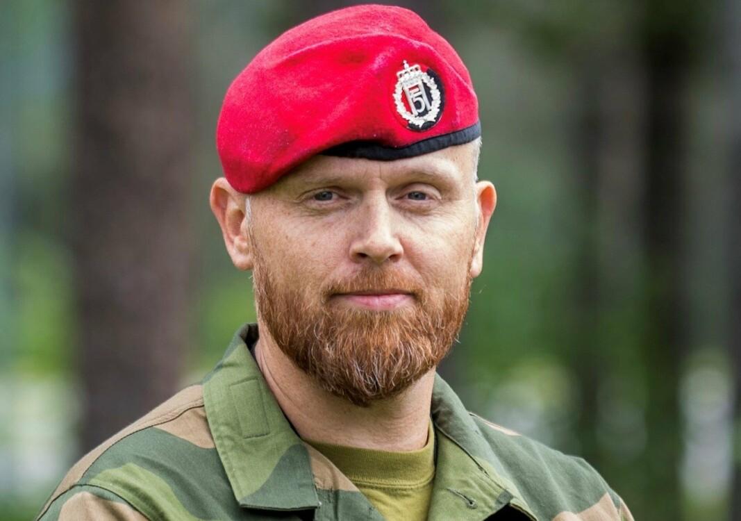 MP-SJEF: Oberstløytnant Stian Dale mener at Forsvarets største utfordring er evnen til å beholde personell over tid.