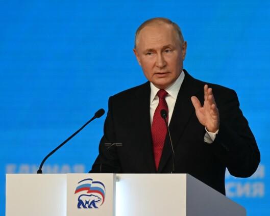 Putin: Russland vil ikke blande seg inn i Afghanistan
