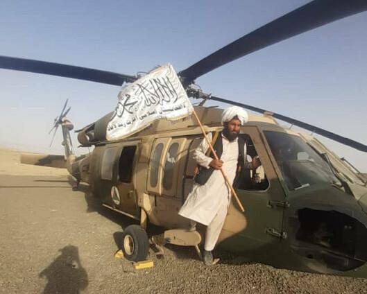 Taliban skal ha tatt i bruk amerikansk militærhelikopter