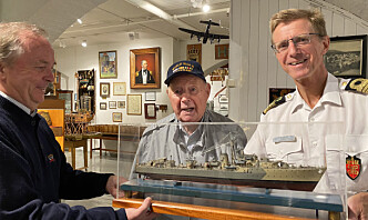 Trygve (99) deltok i senkingen av Scharnhorst
