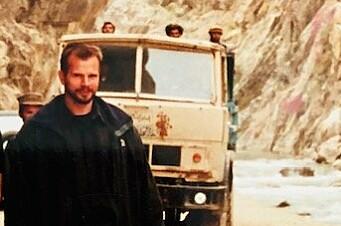 Freddy Bolle var i Afghanistan i 2002.