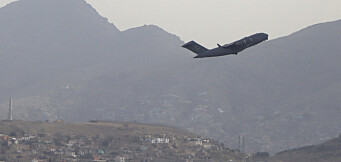 Pentagon bekrefter: De siste amerikanske soldatene har forlatt Afghanistan