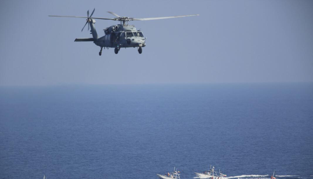 SEAHAWK: Det var et fly av denne typen, MGH-60s, eller Seahawk, som krasjet utenfor San Diego.