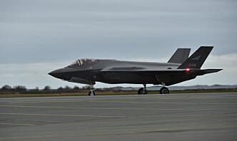 Åtte nye kampfly skal øve på Evenes