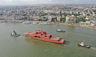 Nå nærmer Kystvaktens nyeste fartøy seg Norge