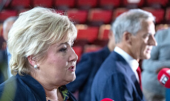 Solberg erkjenner at veteranpolitikken har vært for dårlig i Norge