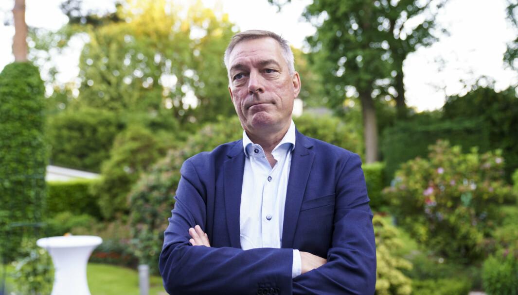 DEBATT: Forsvarsminister Frank Bakke-Jensen advarer mot en primitiv forsvarsdebatt. Her er han i Brussel under et Nato-møte i sommer.
