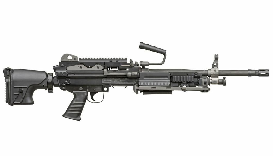 AVTALE: Rammeavtalen innebærer kjøp av inntil 4000 nye maskingevær.