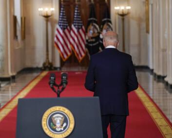 Joe Biden vil ha slutt på USA som verdenspoliti