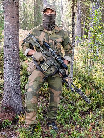 TERMISK: Siktet Skeet-IRX montert på et skarpskytter-våpen. Siktene leveres i to utgaver.