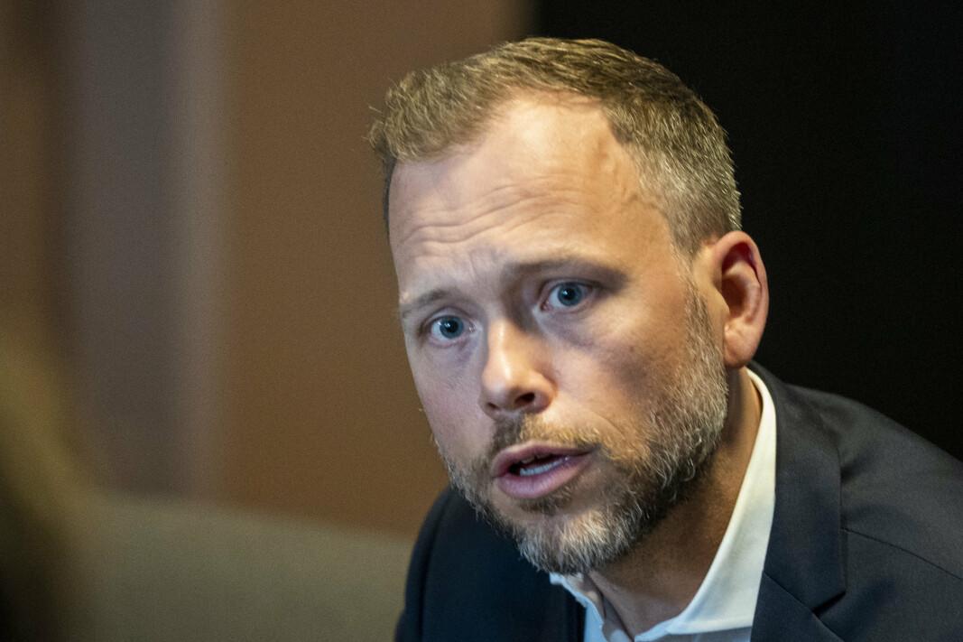 VIL UT: SV og Audun Lysbakken vil på sikt erstatte Nato med et nordisk alternativ.