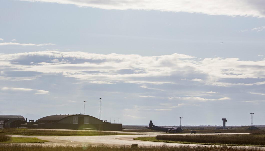 DYR INVESTERING: Et Orion-fly parkert på Andøya flystasjon i september 2017. Senterpartiet kjemper for flystasjonen, men prisen kan bli høy.