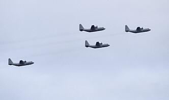 Svenske Hercules-fly oppfyller ikke krav