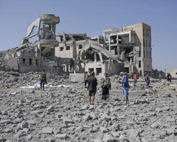 FN-rapport: Minst 18.000 sivile drept eller såret i luftangrep i Jemen siden 2015