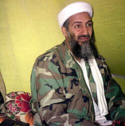 Bildet av Bin-Laden