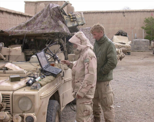 Brødrene Kristoffersen kom til Afghanistan i januar 2002.