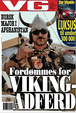Forsiden av VG, 28.09.2010,