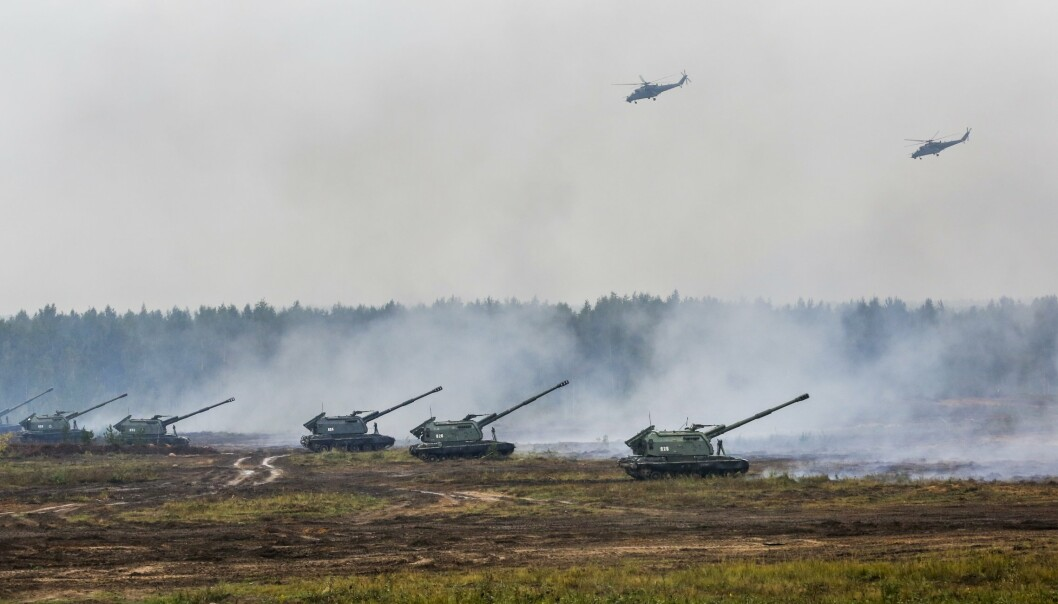 STØRRELSE: Natos generalsekretær Jens Stoltenberg har oppfordret Russland til åpenhet om størrelsen på øvelse Zapad-2021.