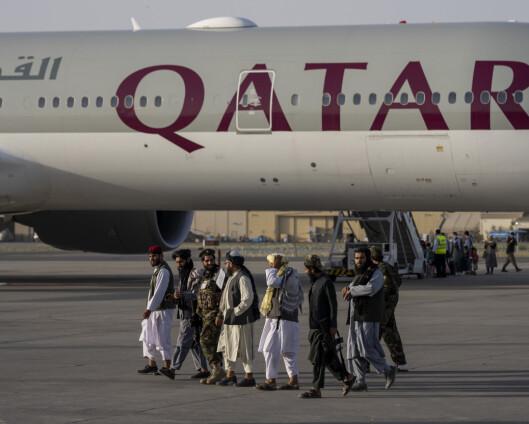 USA roser Taliban for profesjonell opptreden under evakuering