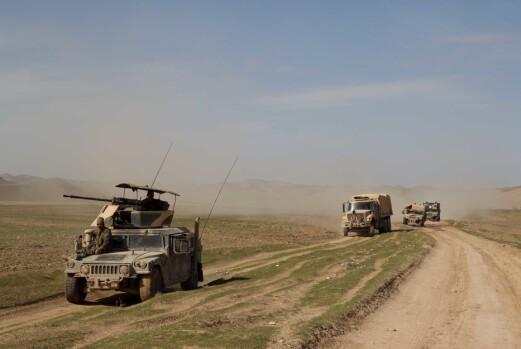 «Eldar» kom tilbake til Afghanisatn både i 2013 og 2020.