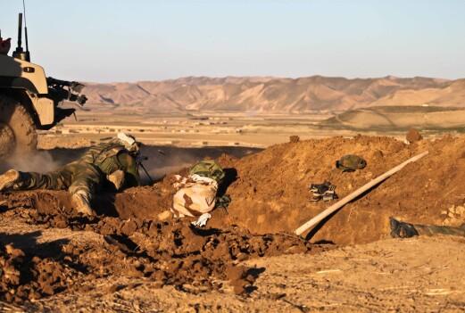 «Eldar» var mentor i den norske styrken i Meymaneh.