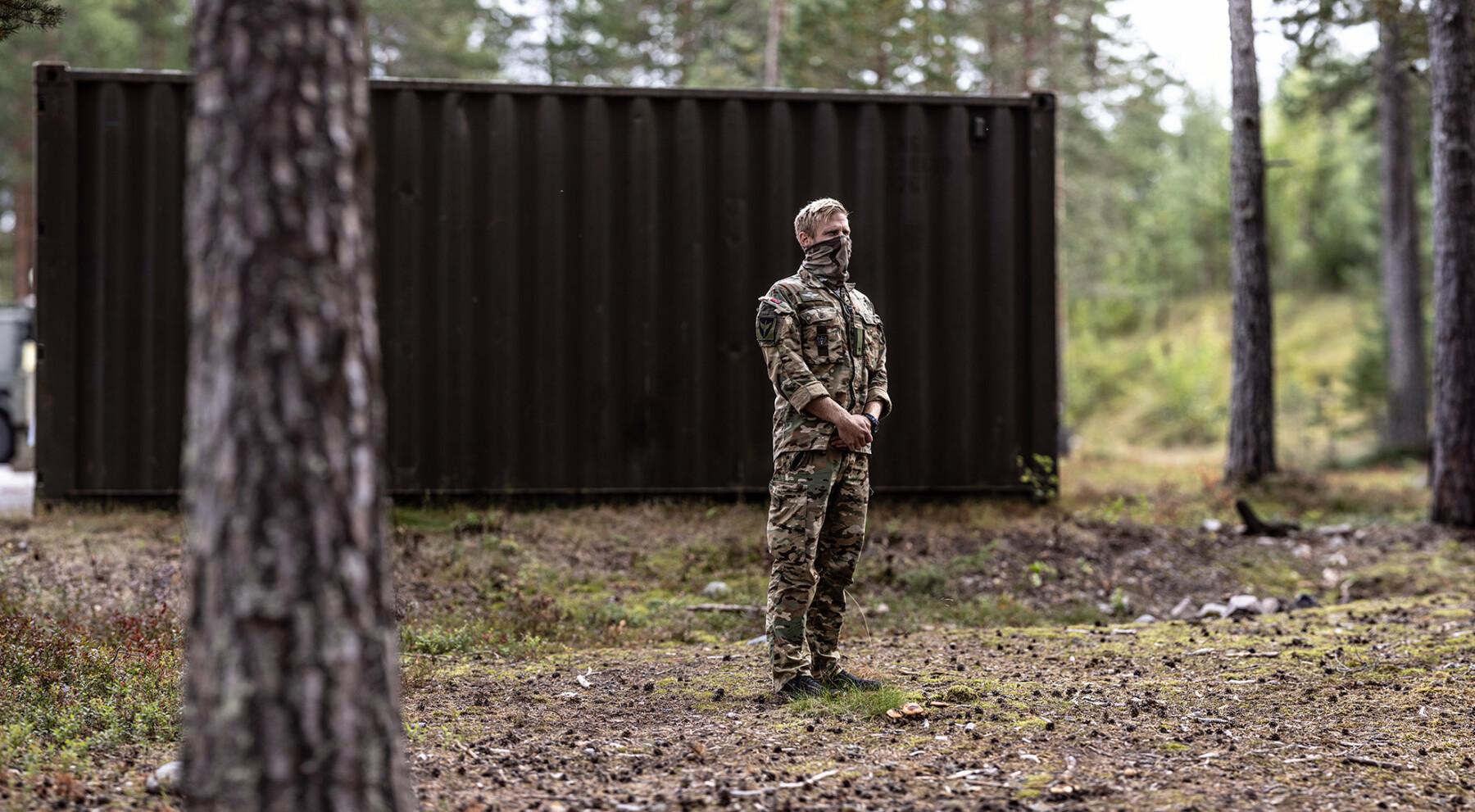 «Eldar» i Forsvarets spesialkommando var den siste norske sjefen i Afghanistan. Han dro hjem i juni 2021.